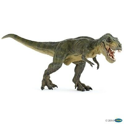 Green Running T-Rex figure Papo: Dinosaurs - Model 55027
