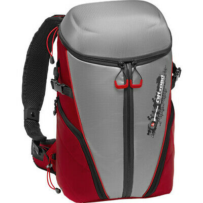 Manfrotto Off Road Stunt Backpack (Grey/Red)