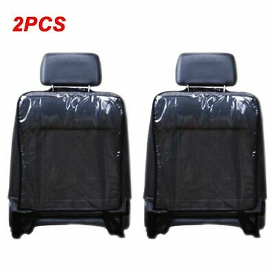 2PCS Car Seat Protector Back Rear Seat Cover For Kids Children Baby Kick Mat Fro