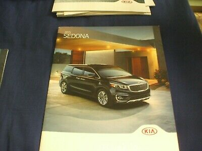 2015 KIA SEDONA Car Brochure