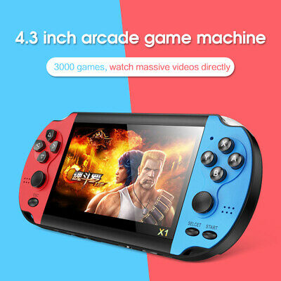 8GB 4.3'' Retro Handheld Game Console Portable Video Game Built 10000+ Games US
