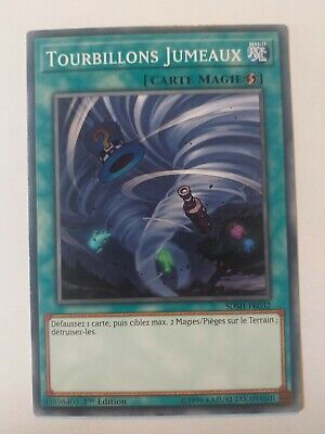 Yu-gi-oh!  Tourbillons Jumeaux (Twin Twisters) : SDSH-FR032 -VF/Commune-