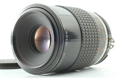[Exc+++++] Nikon Micro Nikkor 105mm f/4 Ai-S Ais MF Lens From Japan #1049