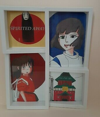 Spirited Away Bathhouse Japanese Print Poster Studio Ghibli Gift Ghibli Fan 13 29 Picclick Uk