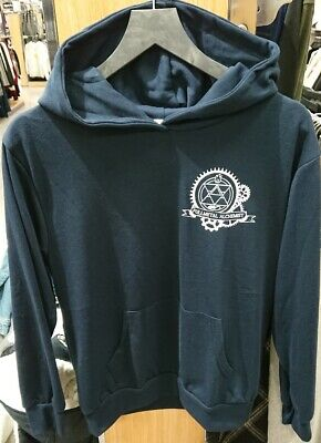 Full Metal Alchemist Avail Roy Mustang Pullover Hoodie M With Tag Hagaren