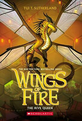 Hive Queen (wings of Fire, Book 12) by Tui T. Sutherland (English) Paperback Boo