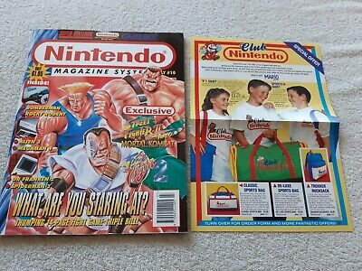 Nintendo Official Magazine - Issue 10 Mint Condition