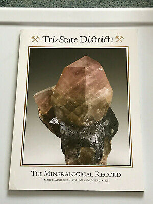 Mineralogical Record, March/April 2017, Tri-State District, good condition