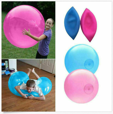 120CM Inflatable Wubble Bubble Ball Soft Stretch Large Outdoor Water Balloons UK