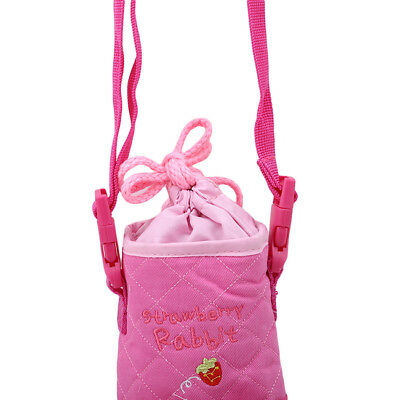 Cartoon Kettle Insulation Bag Children Cross-body Strap Cup Printing Thermos YI