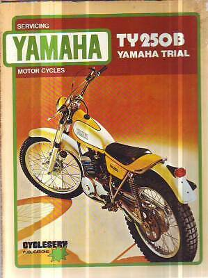 2  Yamaha Ty250B & Ty80B  Service Repair Workshop Service  Manuals 1975