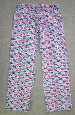 Vineyard Vines Lounge Pajama Pants XXS Women's Flannel Whale Print G26