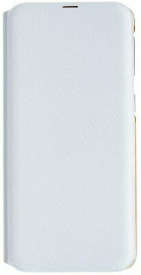 Official Samsung Galaxy A40 SM-A405 White Flip Wallet Cover Case With Card Slot