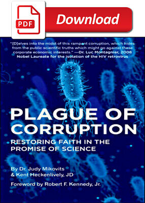 Plague of Corruption by Kent Heckenlively, Judy Mikovits 2020 (E-B O O K)