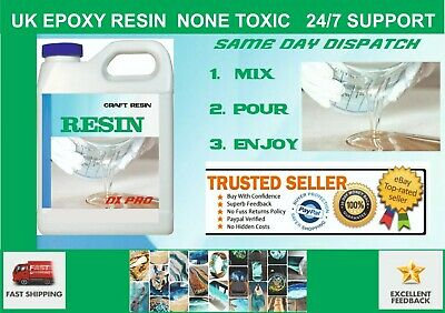 Epoxy Resin Starter Kit   Art  pro system no cracking NONE TOXIC SAFE TO USE