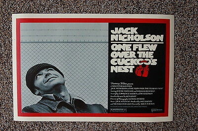 One Flew Over The Cuckoos Nest Movie Poster  Large 24inx36in