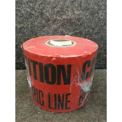 """BRADY Y76743 Buried Electrical Caution Tape; 6"""" x 1000 ft Roll"""