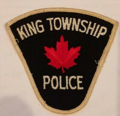 Ontario PVC patch Police Canada Sheriff Tactical SWAT Fire Corrections EMS