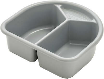 Rotho Wash Bowl with 2 Compartments - Stone Gray New