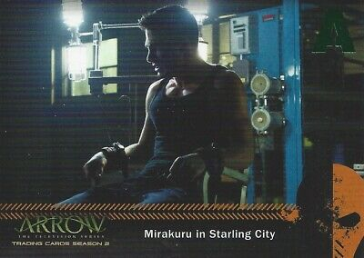 Arrow Season 2 Mirakuru Chase Card U1 What Is Happening to Me?