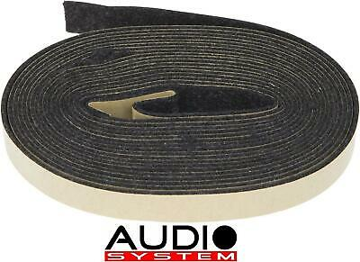 AUDIO SYSTEM SILENCE TAPE Dämm-KLebeband  6 m x 20 mm Dämmaterial MADE in EU NEU
