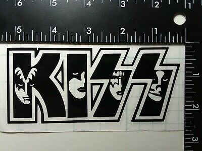 Awesome Kiss band Decal Sticker for laptops or any smooth surface ships FREE