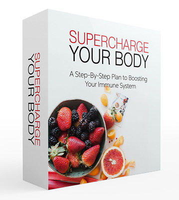 Supercharge Your Body PDF eBook with master resell rights 24 hour delivery