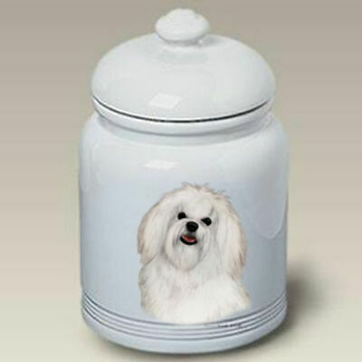 Maltese Ceramic Treat Jar TB 34041
