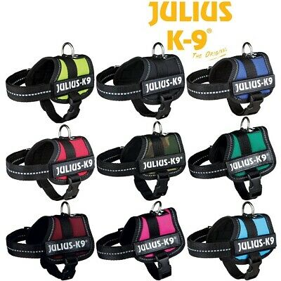 Julius K9® Strong Adjustable Power Harness Dog Puppy Robust Harnesses - SALE