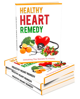 Healthy Heart Remedy PDF eBook with master resell rights