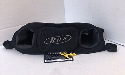 B.O.B. BOB HANDLEBAR Universal STROLLER, BOTTLE, Drink HOLDER/POCKET CONSOLE