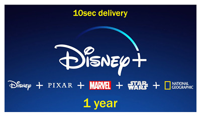 DisneyPlus 1 year subscription shared Account With Replacments 30sec delivery