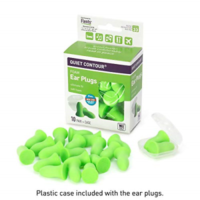 Ear Plugs 10 Pair with Case Ear Plug for Sleeping Snoring Loud Noise Quality