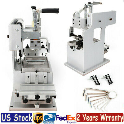 Manual Pad Printing Printer Press Machine Single-color Label Logo Printer DIY