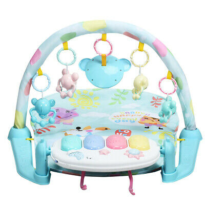 3-in-1 Fitness Music and Lights Baby Gym Play Mat
