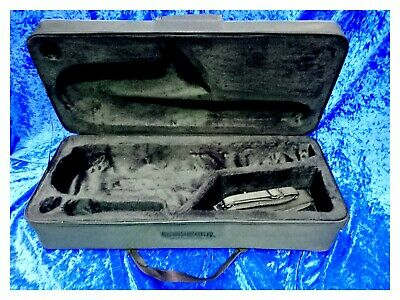 Artemis Saxophone Case, For Alto Sax, Canvas With Feet And Strap/Handle