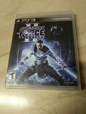 Star Wars The Force Unleashed II PlayStation 3 PS3
