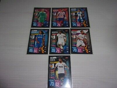 Lote 7 Cards Exclusive Topps Match Attax Uefa Champions League 2019 2020