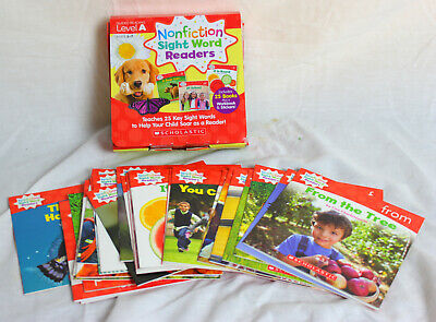 Guided Reading - Level A Nonfiction Sight Word Readers Homeschool Learn to Read