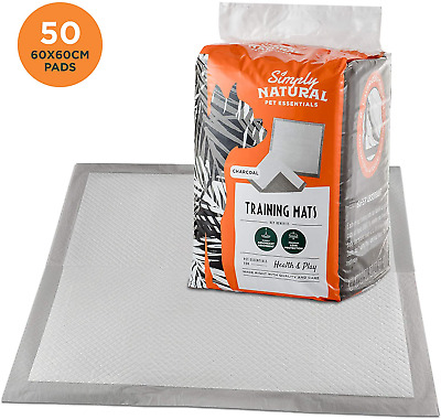 Simply Natural Training Pads 50 Pack 50 60x60cm Super Absorbent Puppy Training 2