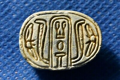 Middle bronze Canaanite / Egypt, Hyksos Scarab Intermediate Period 1650-1550 BC.