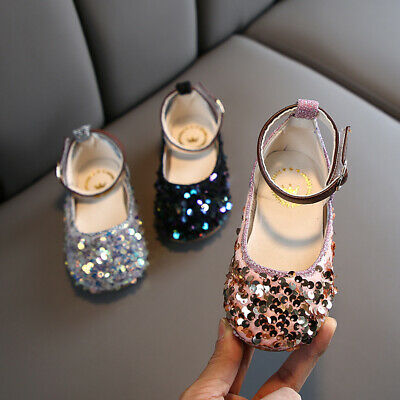 Kids Shoes Soft Sole Baby Princess Shoes Children Flats Girls Leather Shoes
