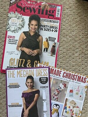 Simply Sewing Magazine - Issue 48 With Pattern The Meghan Party Dress