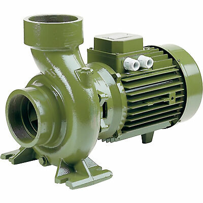 SAER-USA Threaded Centrifugal Pump 21,120 GPH, 4 HP, 3in. Ports, 220/380 Volts