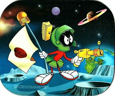 Looney Tunes Marvin the Martian Mouse Pad Warner Bros.1995