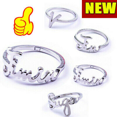 KPOP BTS Jung Kook Ring Jimin V RM For A.R.M.Y Bangtan Boys Gift Stainless Steel