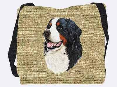 Woven Tote Bag - Bernese Mountain Dog 1153