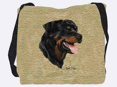 Woven Tote Bag - Rottweiler 2352