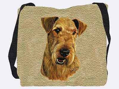 Woven Tote Bag - Airedale Terrier 1177
