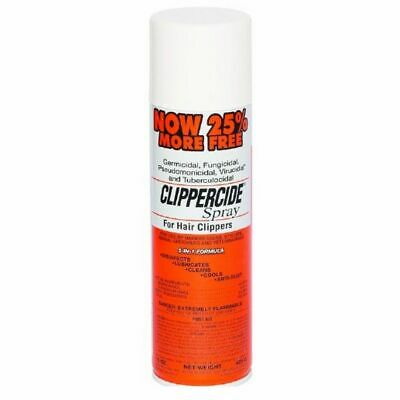 Effective bactericidal  Clippercide Disinfectant Clipper Spray  15oz